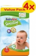 BABYLINO SENSITIVE No4 (7-18kg) 4Χ50τμχ