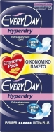 EveryDay - Super Ultra Plus Center Plus Hyperdry 18τμχ