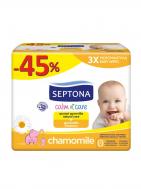 Septona calm&care χαμομήλι 3*64τεμ