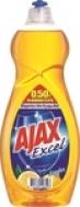 Υγρό Πιάτων Ajax Excel Λεμόνι 750ml