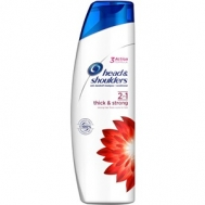 HEAD & SHOULDERS ΣΑΜΠΟΥΑΝ 2ΣΕ1 THICK & STRONG (360ml)