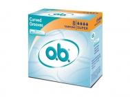 ΤΑΜΠΟΝ O.B. Curved Grooves Super 8τμχ