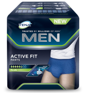 TENA MEN ACTIVE FIT PANTS LARGE 8τμχ